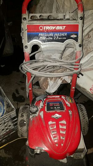 Troy-Bilt Pressure washer for Sale in Cleveland, OH