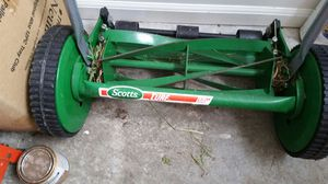 Manual Lawn Mower Scotts for Sale in San Francisco, CA