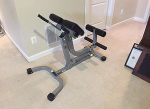 Hyper extension Back and abdominal exercise bench for Sale in Ashburn, VA