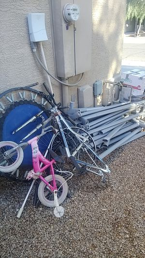 Free metal and steel poles from 22 foot pool for Sale in Litchfield Park, AZ