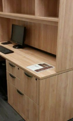 Aspen Credenza/ Desk W/ Combo Lateral Cabinet for Sale in Tigard,  OR