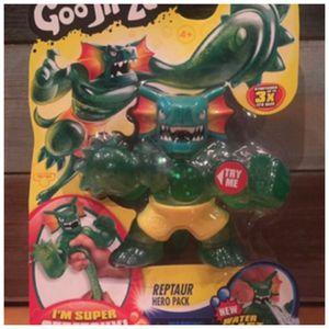 Reptaur Hero Pack Heroes of Goo Jit Zu Water Blast Attack Figure New for Sale in Fayetteville, NC