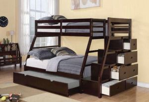 Bunk bed with trundle for Sale in Fort Lauderdale, FL