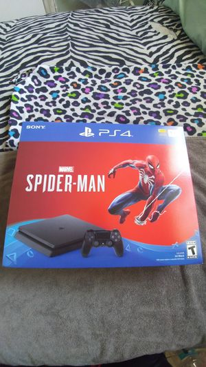 Playstation 4 Spider-Man Edition Bundle With Call of Duty Black Ops 4 for Sale in Frostproof, FL