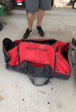 Empire paintball rolling duffle bag for Sale in Gilbert, AZ