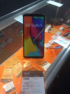 Boost Mobile Lg Stylo 5 for Sale in Phoenix, AZ