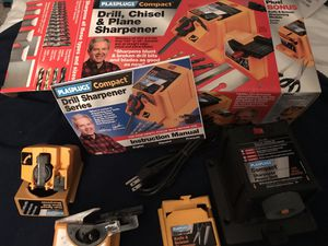 Drill, Chisel, Knife, Scissors & Plane Sharpener for Sale in Anchorage, AK