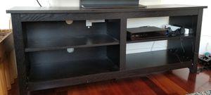 Like new black sunbury tv stand! for Sale in San Francisco, CA