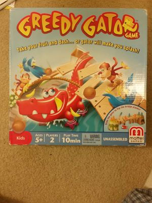 New box game for kids Greedy Gator for Sale in Beverly Hills, MI
