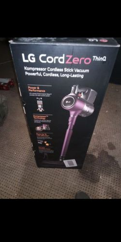 LG CordZero thin Q Compressor cordless stock vacuum for Sale in Corinth,  TX