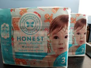 🎅🏻Honest Diapers Size 3 Christmas Design for Sale in Las Vegas, NV