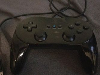 Black Wii Classic Controler Pro for Sale in Vancouver,  WA