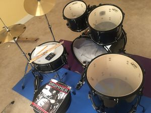 """Full """"Jett"""" beginner drum set for Sale in Ashburn, VA"""