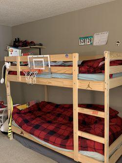 IKEA Twin Bunk Bed for Sale in Orange,  CA