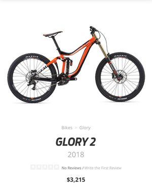 Downhill bike giant glory for Sale in Newark, NJ