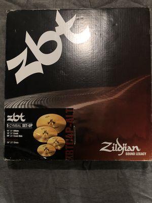 Zildjian ZBT 5 Cymbal Set for Sale in Naperville, IL