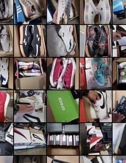 Shoes Mix Pallet Nike - Adidas - Fila - Rebook - New Balance - Crocs - Tommy - for Sale in El Monte,  CA