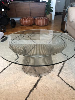 Mid Century Platner Coffee Table for Sale in New York, NY