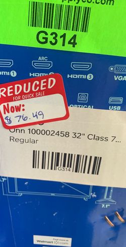 """ONN REGULAR TV (non smart TVs) 32"""" prices vary 0N for Sale in Montclair,  CA"""