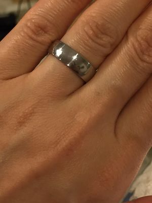 UNISEX 😍💍Stainless Steel Engagement Ring for Sale in Houston, TX