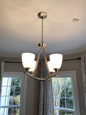 Brushed nickel 4 lights for Sale in Charlotte, NC
