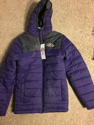New youth large ravens jacket/ coat for Sale in Reisterstown, MD