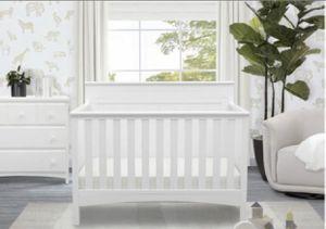 Delta children fancy 4 in 1 crib (Berço) for Sale in Kissimmee, FL