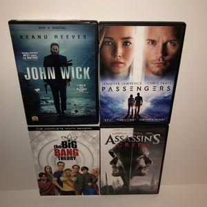 4 DVD - for Sale in Los Altos, CA