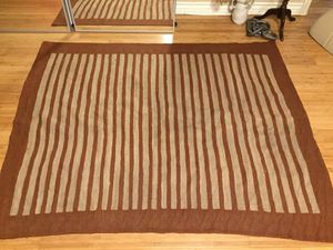 Vintage Red and Beige Striped Rug for Sale in Los Angeles, CA