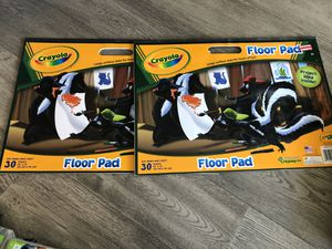 Two Crayola floor pads for free drawing for Sale in Phoenix, AZ