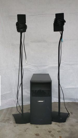 Bose Subwoofer Reciever and Speaker System for Sale in Orange, CA