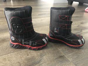 Toddler Boys Star Wars Snow/Rain Boots. Size 7/8. for Sale in Murrieta, CA