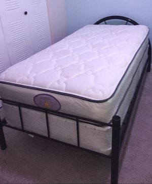 NEW TWIN MATTRESS AND BOX SPRING 2PC. BED FRAME IS NOT INCLUDED for Sale in West Palm Beach, FL