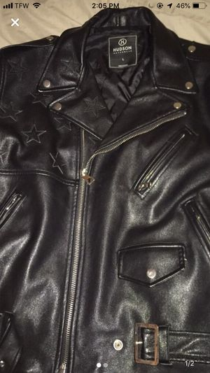 Men's leather jacket for Sale in New York, NY