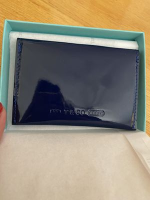 Tiffany and Co. Patent Leather Card Case for Sale in Mission Viejo, CA