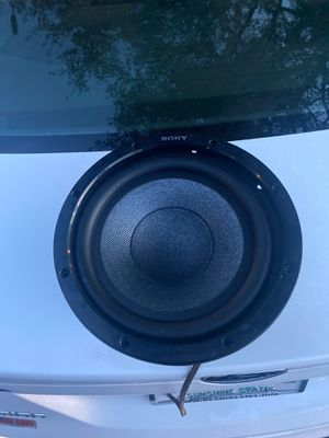 """Sony 10"""" subwoofer works fine for Sale in Tampa, FL"""