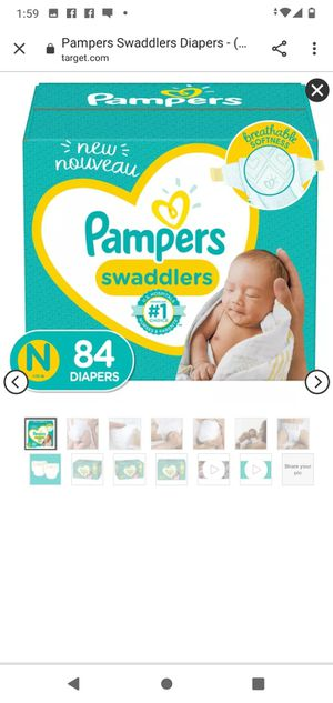 Swaddlers Newborn Diapers for Sale in Federal Way, WA
