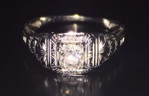 Diamond Engagement Ring Size 5 for Sale in Crofton, MD