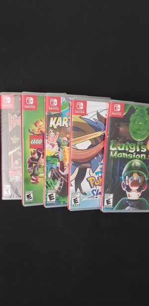 Nintendo Switch Games Lot for Sale in Portland, OR