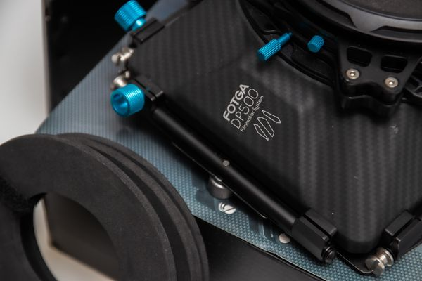 FOTGA DP500 Mark III Swing-away Matte Box For 15mm Rod Rig
