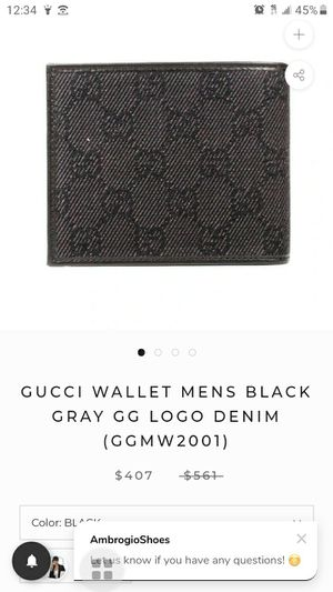 Legit gucci wallet for Sale in Tracy, CA