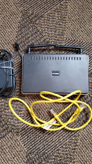D-Link Wireless N 300 Router DIR-615 WiFi For Small Home Or Apartment for Sale in Independence, OH