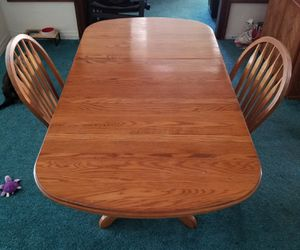 Kitchen Table with Leaf for Sale in Riverside, CA