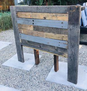 Twin Headboard Reclaimed Wood for Sale in Long Beach, CA