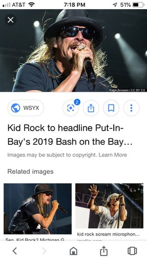 Pair of kid rock tickets for Sale in Lancaster, OH