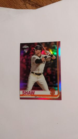Chris Shaw pink refractor 2019 Topps chrome for Sale in Ball Ground, GA
