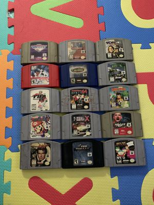Nintendo 64 games all for $150 obo for Sale in Downey, CA