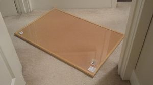 Ultralight wood framed 2 x 3 foot bulletin board corkboard with hardware for Sale in Seattle, WA