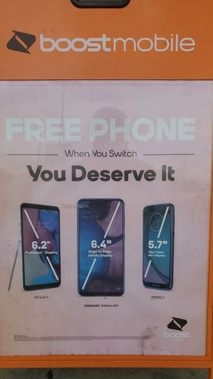 FREE PHONE WHEN U SWITCH for Sale in North Highlands, CA