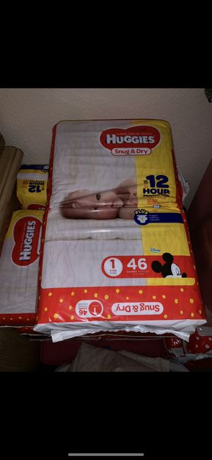Huggies size 1 for Sale in Costa Mesa, CA